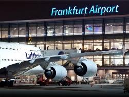 flughafen und frankfurt